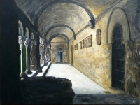 2010, Arles-kloostergang Cloitre de St.Trophime, acryl, 90x120cm