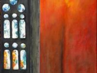 2010, Glas-in-lood, acryl, 60x80cm