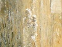 2013- Maria met kind, acryl-op-doek, 50x70cm