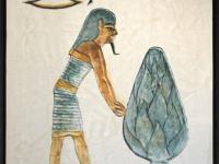 2006, Egypte-I, 50x70cm, acryl-op-pleister,-in OPDRACHT
