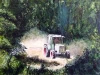 2008, Comblain-maaiveld, 50x70, acryl op karton