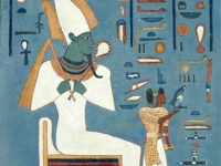 2008-titel-egypte-osiris-horus-50x70cm-acryl-op-pleister