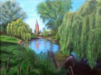 2011, van Son naar Breugel, 90x120cm, acryl, -in OPDRACHT