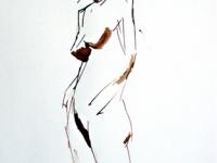 2003-staand-model-schets-met-donker-vlekken-bister